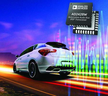 'Automotive Audio Bus, A2B' transceivere tilbyder ekstrem fleksibilitet